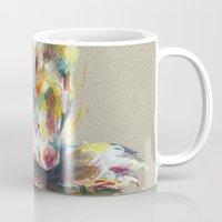 ferret Mugs featuring Ferret IV by Anaïs Chesnoy