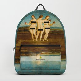 Three Graces censored Backpack
