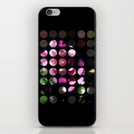 Rosas Moradas 1 Art Circles 1 iPhone Skin