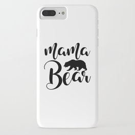 Mama Bear iPhone Case