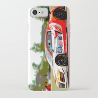 audi iPhone & iPod Cases featuring Flying Lizard Audi R8 | Road America by Phil Schroeder Design