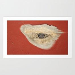 Cuban Streetart - I see you Art Print
