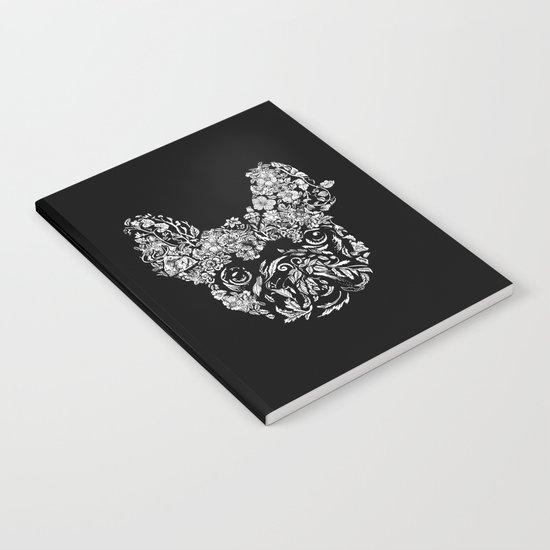 Botanical frenchie Notebook