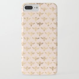 Honey Bees (Pink) iPhone Case