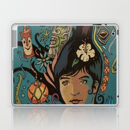 Wahine #4 Laptop & iPad Skin