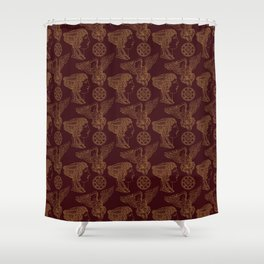 Empire Style Pattern Shower Curtain