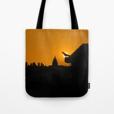 Pigeon Eclipse2 Tote Bag