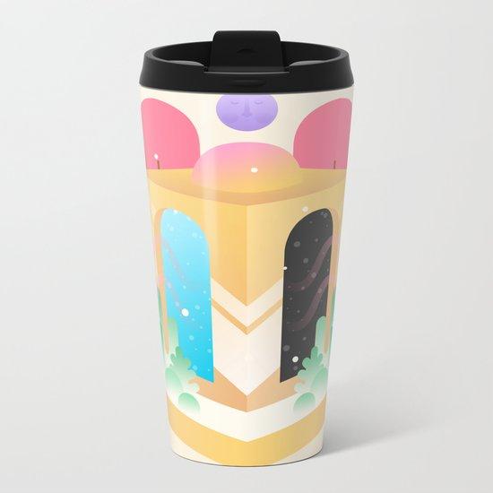 Temple of Time  Metal Travel Mug