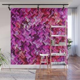 Pretty in wavy Pink..... Wall Mural