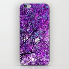 purple tree III iPhone & iPod Skin