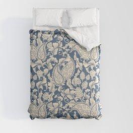Vintage & Shabby Chic - William Morris Classic Blue Antique Floral Comforters