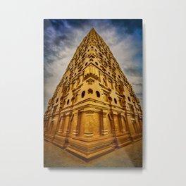 Wat Wang Wiwekaram Metal Print