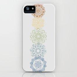 Chakra Mandala iPhone Case