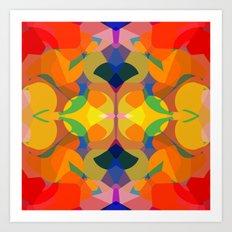 Funky Art Print