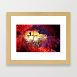 Tryst Framed Art Print