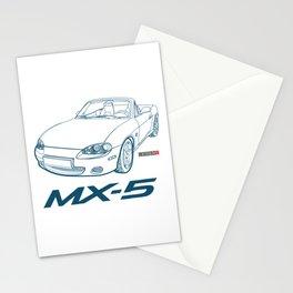MX5 MX-5 MX 5 car Stationery Cards