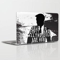 Shatter Me - Hell Is Empty Laptop & iPad Skin