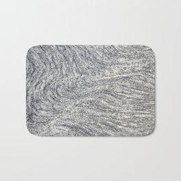 Real Marble Swirl Natural Bath Mat