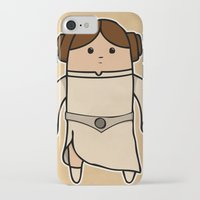 leia iPhone & iPod Cases featuring Leia by thejrowe