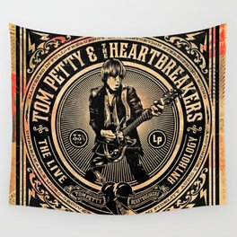 tom heart petty live 2021 ngapril Wall Tapestry