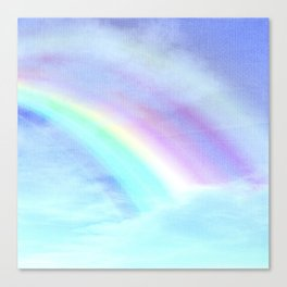 Watecolor Rainbow Canvas Print