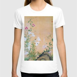 Ito Jakuchu - lilys - Digital Remastered Edition T-shirt