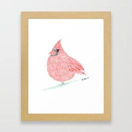 bird XI Framed Art Print