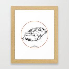 Crazy Car Art 0221 Framed Art Print