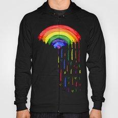 Love Rainbow Rain Hoody