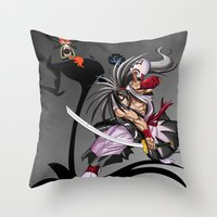 jack Throw Pillows featuring Jack by milanova