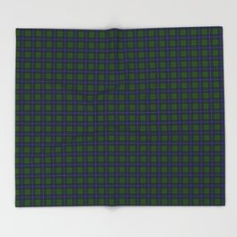Urquhart Tartan Throw Blanket
