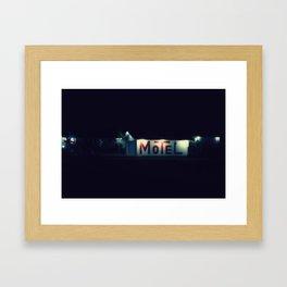 Sweet Dreams Motel Framed Art Print
