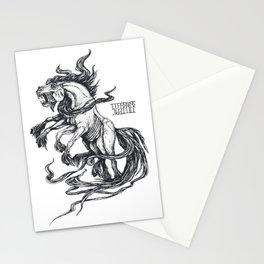 Mythological horse Sleipnir Stationery Cards