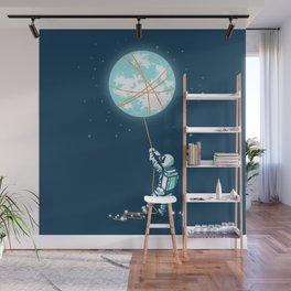 The collector Wall Mural