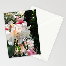 Rhododendron garden Stationery Cards