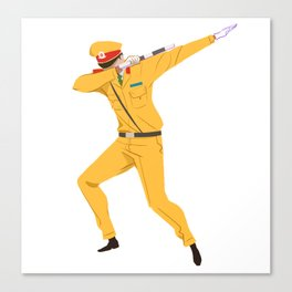 Vietnamese Traffic Cop Dab Canvas Print