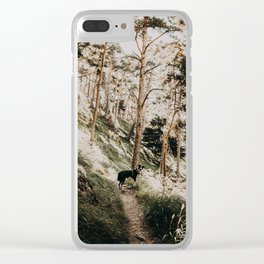 WILD TULA /// Gran Bosco di Salberstrand Clear iPhone Case