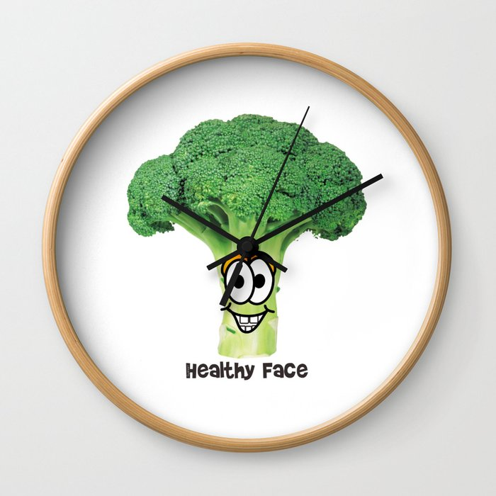 Healthy Brokoli Wall Clock
