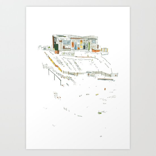 king of the allotments Art Print