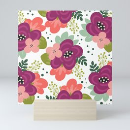 Blooming Florals Mini Art Print