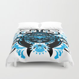 Lovecraftian Cosmic Horror Duvet Cover