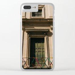Roman Door VI Clear iPhone Case