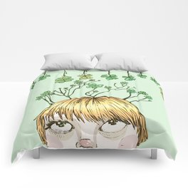 Spring Girl Comforters