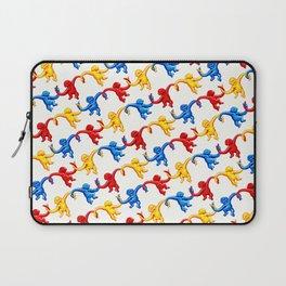 Monkey Toy Pattern Laptop Sleeve