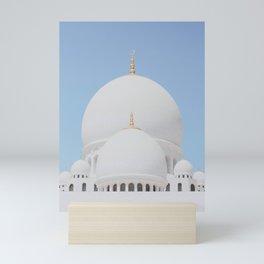 Sheikh Zayed Mosque II Mini Art Print