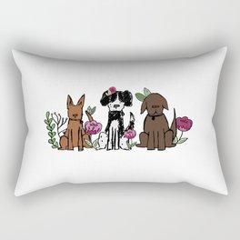 The Rescues Rectangular Pillow