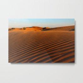 Golden Desert  Metal Print