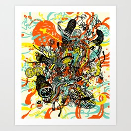 Triefloris Art Print