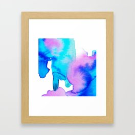 Watercolor 01 Framed Art Print