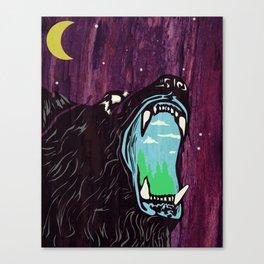 Cry of the Bear Canvas Print